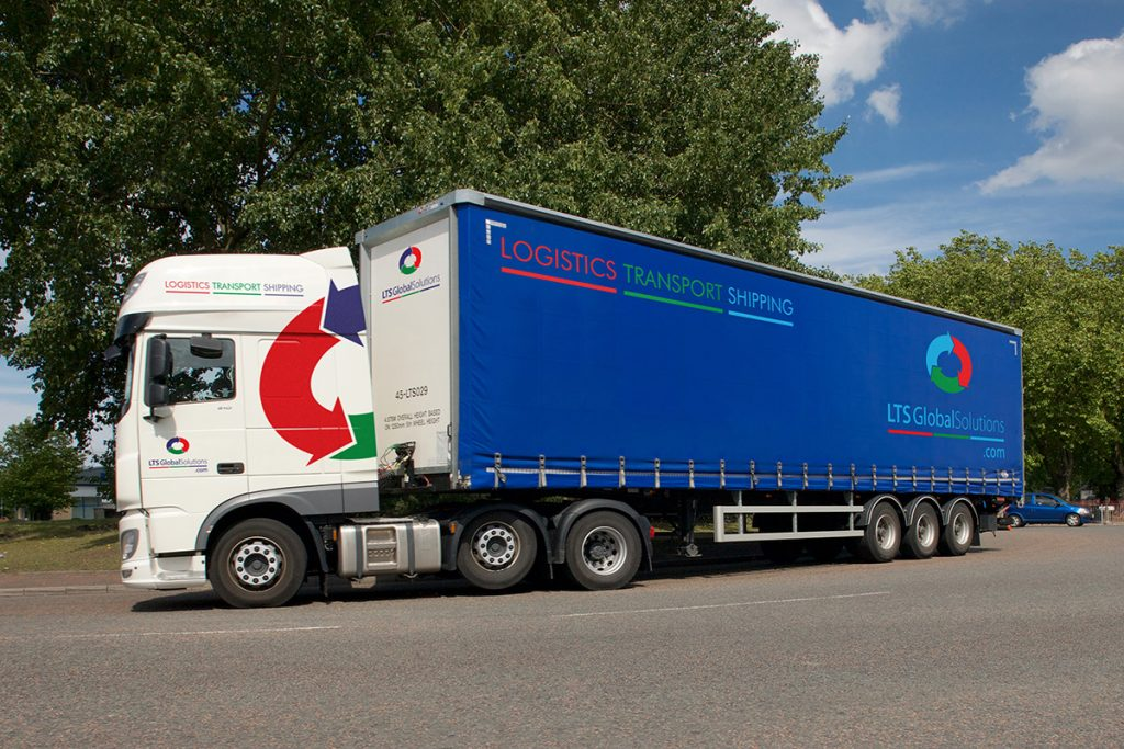 LTS Global Solutions Truck Livery