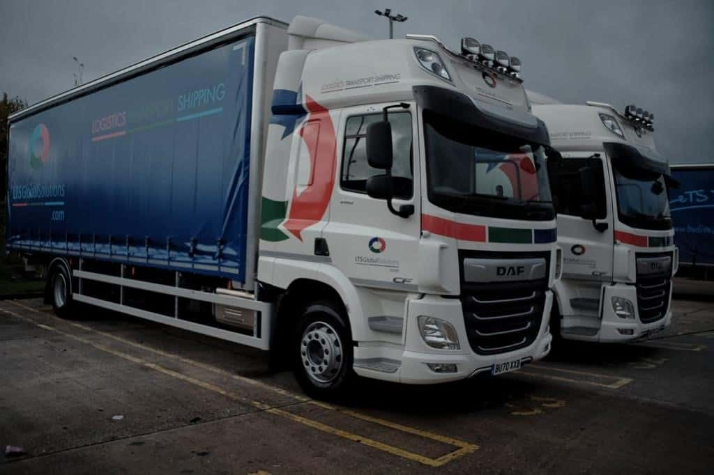 Full and part load delivery vehicle LTS Global Solutions